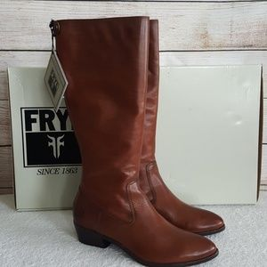 🔥HP🔥New Frye Ruby Tall Brown Riding Boots